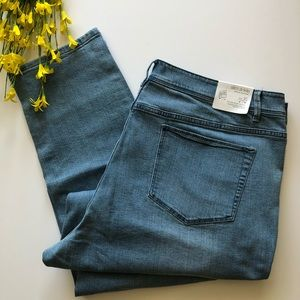 NWT J. Jill Authentic Fit Slim Ankle Jeans